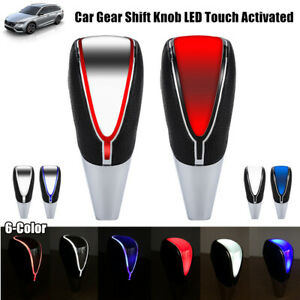 Universal Car Gear Shift Knob Led Touch Activated Sensor Usb Charge Cable Kit