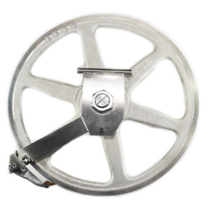 Biro Meat Saw Upper Wheel Pulley Assembly With Hinge Plate Replaces A16003u 6