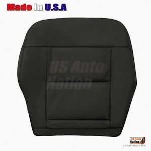 For 2011 2012 Mercedes Benz E350 E550 Black Bottom Perforated Leather Seat Cover
