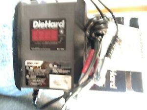 Die Hard Auto Detects 6v 12v Auto Battery Charger Model 28 71321