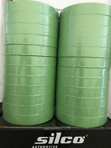 Premium Green Masking Tape 3 4 Auto Bodyshop 24 Rolls 2 Sleeves