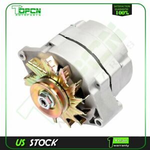 New Alternator Bbc Sbc Chevy 105 Amp 1 Wire High Output One Wire 400 1234