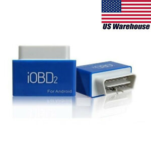 Bluetooth Obd2 Eobd Xtool Code Reader Iobd2 Vehicle Work With Android