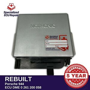 Porsche 944 Ecu Dme Exchange 0261200058 200 Core Charge In Shipping