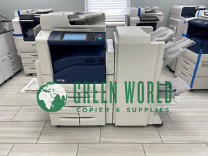 Xerox Workcentre 7845 Color Multi function Low Meter With Booklet Maker 148k