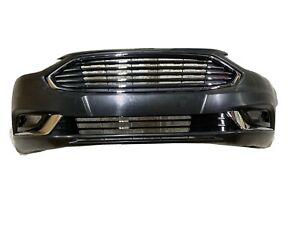 17 18 Ford Fusion Front Bumper Cover Assembly Grilles Fog Covers Led 2017 2018