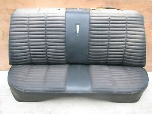 1966 1967 Dodge Coronet 500 R t Plymouth Satellite Gtx Belvedere Rear Seat