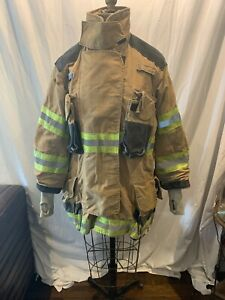 Firefighter Jacket Coat And Pants Bunker Turn Out Gear Janesville Lion Apparel