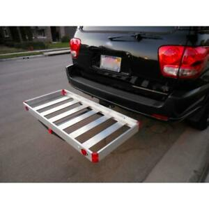 Tow Hitch Cargo Carrier Trailer Suv Car Back Automotive Aluminum Receiver Best