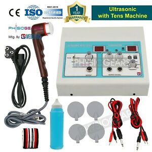 Physiotherapy Healer Combo Electrotherapy Ultrasound Therapy Unit