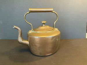 Antique Copper Tea Kettle Teapot Water Kettle Coffee Pot With Lid