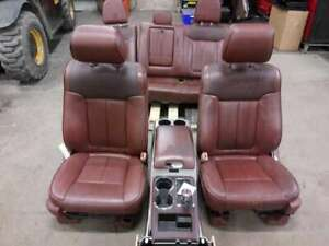 2011 2014 Ford F150 King Ranch Front Seats Console Door Panels Rear Seats