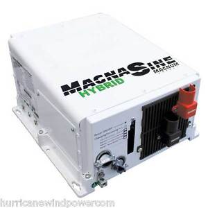 Magnum Msh4024re 4000w Power Inverter Charger Re Hybrid W load Support