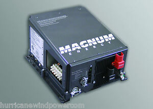 Magnum Me2012 20b 2000w Power Inverter Charger 12 Volt 2 20a Ac Breakers