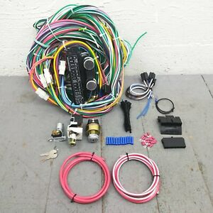 1967 72 Chevy Truck Main Wiring Harness Fuse Box Headlight Switch Kit 250 2wd V8