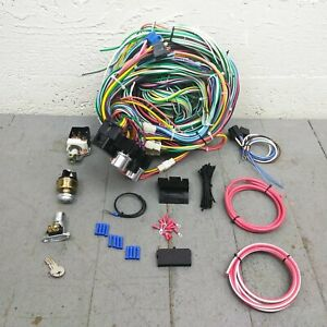 1947 54 Chevy Truck Main Wiring Harness Fuse Box Headlight Switch Kit Gmc 217 Ak
