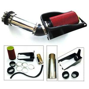 4 Cold Air Intake Kit Filter For 1999 2003 Ford F250 F350 7 3l V8 Red