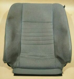 06 10 Dodge Ram Driver Seat Leather Cloth Cover Upholstery Backrest Back Rest Oe