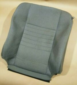 06 10 Dodge Ram Driver Seat Leather Cloth Upholstery Cover Back Rest Backrest Oe