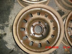 Ford 1968 70 Torino Gt Mustang Gt Montego Gt12 Slot 14 X 6 Steel Wheel Good Used