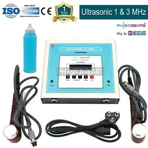 1 3 Mhz Therapeutic Ultrasound Machine Ultrasound Therapy Easy To Use Unit