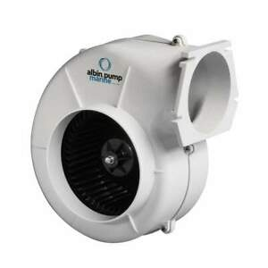 Albin Pump Marine Air Blower 750 Flange 12v 10 02 005