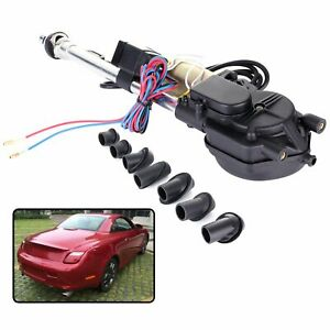 Universal Car Auto Radio Am fm Electric Power Automatic Antenna Aerial 12v