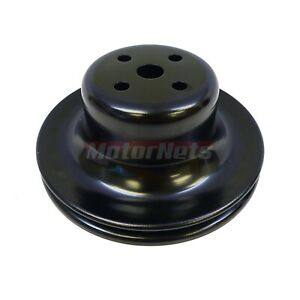 Small Block Ford Black Single 1 Groove Water Pump Pulley 65 66 289 Mustang Sbf