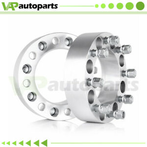 2 Thick 2pcs Wheel Spacers 8x6 5 9 16 Studs 8 Lugs For Dodge Ram 2500 3500