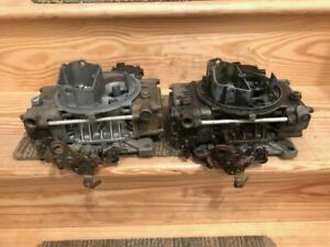 Holley Carburetors 1850 3 Pair Tunnel Ram Blower Race Carbs Dual Quad Used