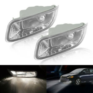 For Toyota Corolla 2003 2004 18l Front Bumper Lamps Fog Lights Pair Right Left Fits 2004 Corolla