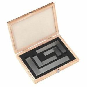 Steel Square Set Ground Hardened Machinist Tool 2 3 4 6 New
