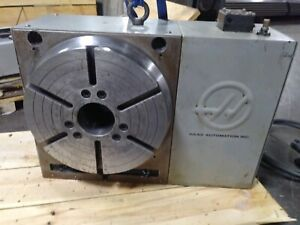 Used Haas Hrt 310 Brushess Sigma 1 Rotary Table Indexer 4th Axis W Control Box