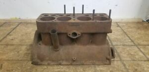 1928 Ford Model A 4 Cylinder Engine Motor Block A 15950 Rare 5 Cam Bearings