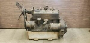 1929 Ford Model A 4 Cylinder Engine Motor Block A1895686 Turns Free Compression
