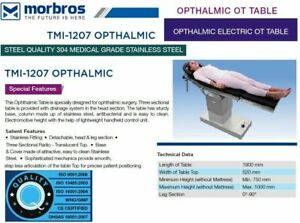 New Electric Operating Ophthalmic Ot Table Surgical Operating Table Tmi 1207 Tab