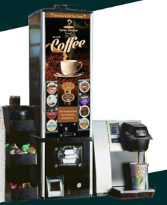 Coffee K cup Vending System Includes K cup Vending Machine keurig Brewer caddy