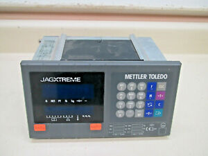 Mettler Toledo Jagxtreme Scale Controller Fact Jxpa4460000 W Cards Used