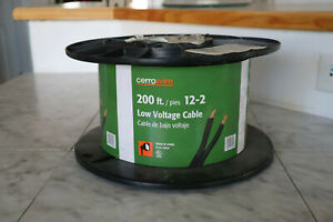 Cerro Wire 200 Ft 12 2 Low Voltage Cable new