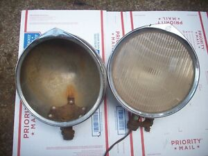 1929 Nash Headlights Antique Hot Rod Rat 28 29 30 Ford Chevy Dodge Auburn Cord