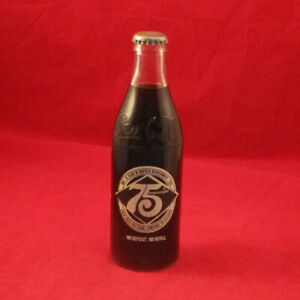 Coca Cola 75th anniversary bottle