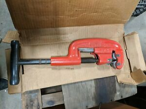 Vintage Reed Mfg Co No 2 1 Heavy Duty Pipe Cutter 1 8 2 excellent Condition