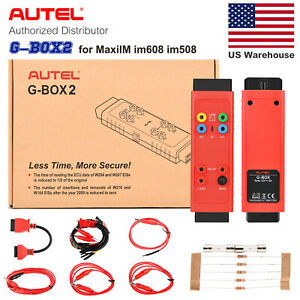 Autel Gbox 2 Work With Im608 Car Immo Key Programmer Tool For Mercedes Benz Bmw