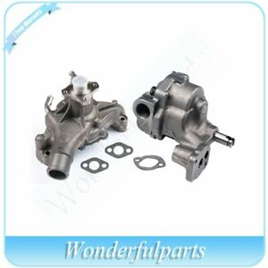 Engine Water Oil Pump For Chevy Gmc Express 1500 K1500 K2500 4 3l 5 0l 5 7l