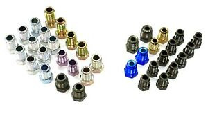 Metric Iso Bubble Flare Brake Line Fitting Kit For 3 16 And 1 4 Tube
