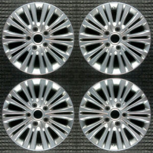 Set 2011 2012 2013 Chrysler Town And Country Oem Factory Silver Wheels Rims 2402