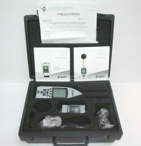 Tsi Quest Se 402 Sound Examiner W Ac 300 Sound Calibrator Kit Feb 2019 Calib