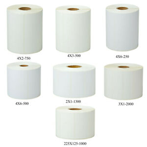 Direct Thermal Shipping Paper Labels Tape For Zebra Eltron Gk420d Gc420d Gc420t