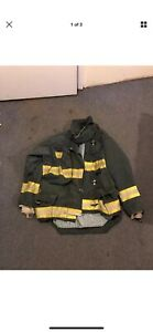Morning Pride Gear Bunker Jacket Turnout Jacket Fdny Style Size 46