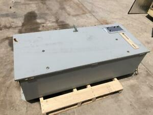 400 Amp Cutler hammer Transfer Switch Nema 3r Encls